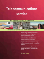 Telecommunications service A Complete Guide - 2019 Edition