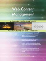 Web Content Management A Complete Guide - 2019 Edition