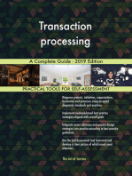 Transaction processing A Complete Guide - 2019 Edition