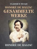 Honoré de Balzac Gesammelte Werke