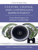Culture, Change, and Continuous Improvement