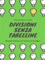 Divisioni senza tabelline