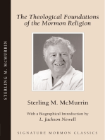 The Theological Foundations of the Mormon Religion
