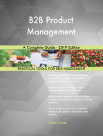 B2B Product Management A Complete Guide - 2019 Edition