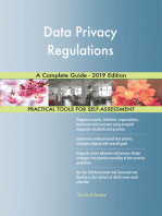Data Privacy Regulations A Complete Guide - 2019 Edition