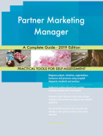 Partner Marketing Manager A Complete Guide - 2019 Edition