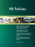 HR Policies A Complete Guide - 2019 Edition