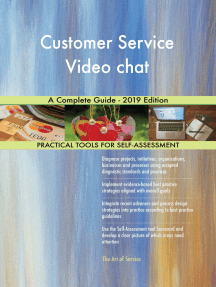 Customer Service Video chat A Complete Guide - 2019 Edition
