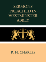 Sermons Preached in Westminster Abbey