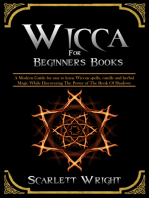 Wicca For Beginners Books
