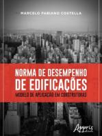 Norma de Desempenho de Edificações: Modelo de Aplicação em Construtoras