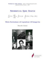 Moto browniano ed equazione di Langevin