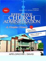 Effective Church Administration Volume 1
