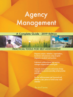 Agency Management A Complete Guide - 2019 Edition