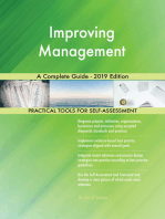 Improving Management A Complete Guide - 2019 Edition