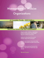 Management In Midsize Organizations A Complete Guide - 2019 Edition