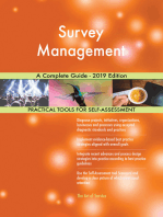Survey Management A Complete Guide - 2019 Edition