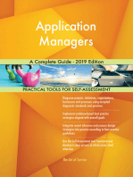 Application Managers A Complete Guide - 2019 Edition