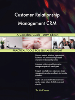 Customer Relationship Management CRM A Complete Guide - 2019 Edition