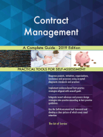 Contract Management A Complete Guide - 2019 Edition