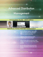 Advanced Distribution Management A Complete Guide - 2019 Edition