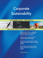 Corporate Sustainability A Complete Guide - 2019 Edition