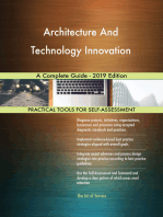 Architecture And Technology Innovation A Complete Guide - 2019 Edition