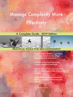 Manage Complexity More Effectively A Complete Guide - 2019 Edition