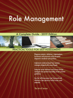 Role Management A Complete Guide - 2019 Edition
