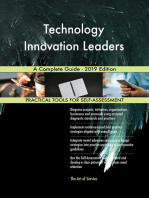 Technology Innovation Leaders A Complete Guide - 2019 Edition