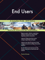 End Users A Complete Guide - 2019 Edition