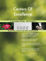 Centers Of Excellence A Complete Guide - 2019 Edition