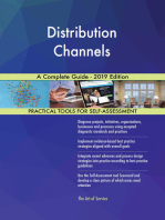 Distribution Channels A Complete Guide - 2019 Edition