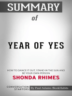 Summary of Year of Yes
