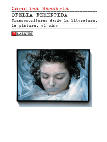 Ofelia fementida: Transescrituras desde la literatura, la pintura, el cine