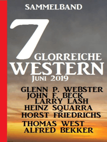 Sammelband 7 glorreiche Western Juni 2019
