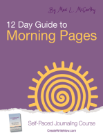 12 Day Guide to Morning Pages