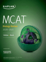 MCAT Biology Review 2020-2021: Online + Book