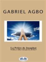 La Prière De Josaphat
