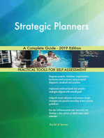 Strategic Planners A Complete Guide - 2019 Edition