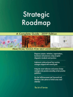 Strategic Roadmap A Complete Guide - 2019 Edition