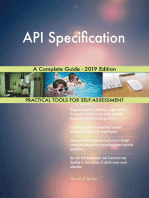 API Specification A Complete Guide - 2019 Edition