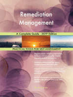 Remediation Management A Complete Guide - 2019 Edition