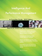 Intelligence And Performance Management A Complete Guide - 2019 Edition