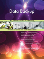 Data Backup A Complete Guide - 2019 Edition