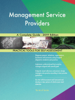 Management Service Providers A Complete Guide - 2019 Edition