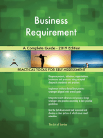 Business Requirement A Complete Guide - 2019 Edition