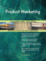 Product Marketing A Complete Guide - 2019 Edition