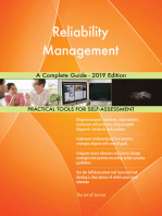 Reliability Management A Complete Guide - 2019 Edition