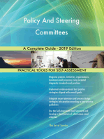 Policy And Steering Committees A Complete Guide - 2019 Edition